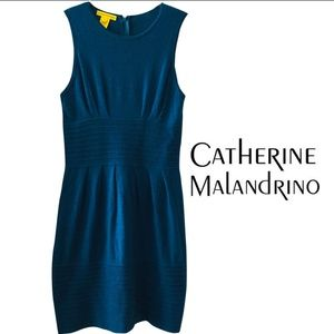 Gorgeous Teal Catherine Malandrino Cashmere dress